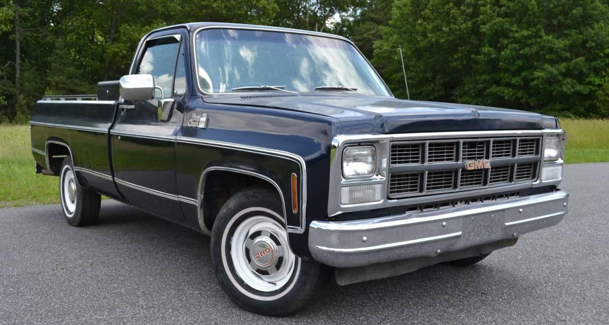 1980 GMC Sierra 15 Classic Diesel