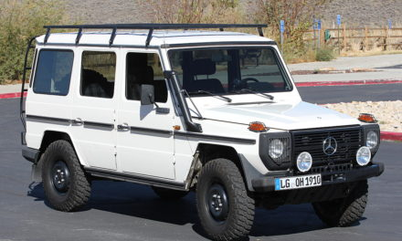 1980 Mercedes-Benz G Wagon Diesel – SOLD!
