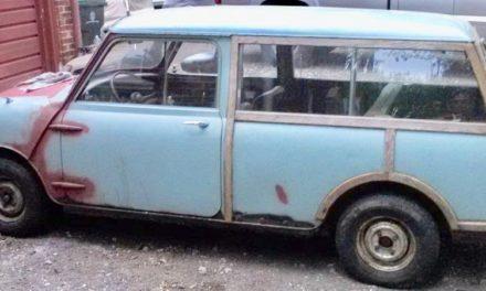 1963 Austin Mini-Traveler