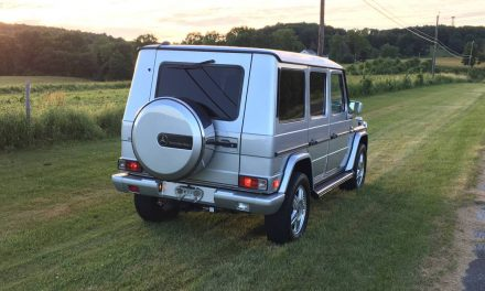 2002 Mercedes-Benz G500 G-Wagon