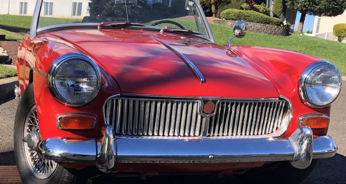 1966 MG Midget Mk III – Sold!