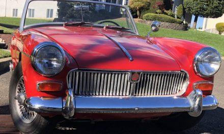 1966 MG Midget Mk III