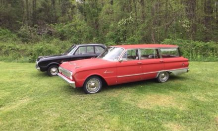 1962 Ford Falcon Deluxe Station Wagon – SOLD!