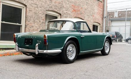 1967 Triumph TR4A Surrey Top – Sold