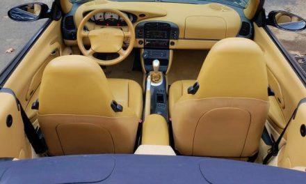 1999 Porsche 911 Cabriolet – SOLD!