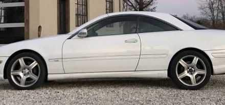 2001 Mercedes-Benz CL600 V12
