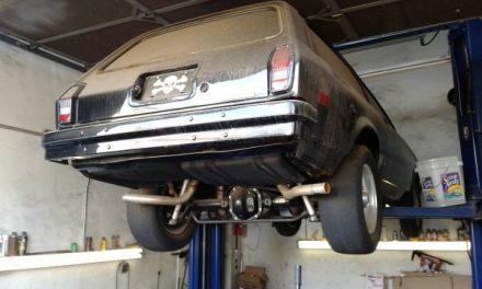 1974 Chevy Vega Kammback Don Hardy V8 Conversion