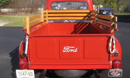 1951 Ford F-1 Pickup Mild Custom