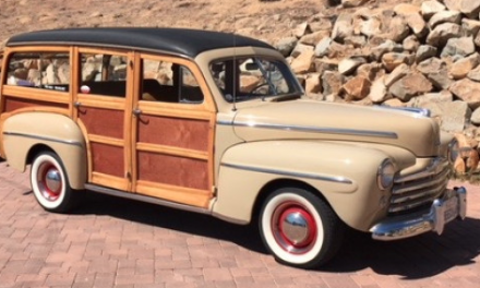 1948 Ford Super Deluxe V8 Woodie Station Wagon – SOLD!
