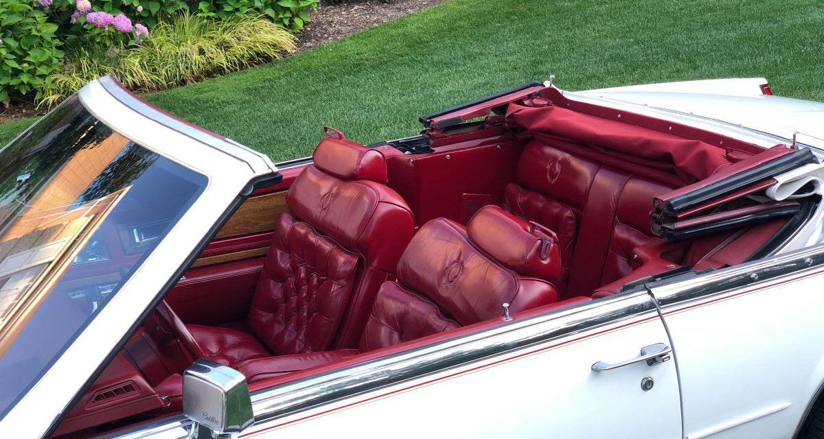 1984 Cadillac Biarritz Convertible – $15,400