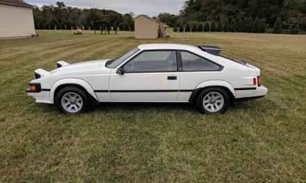 1984 Toyota Supra Mk II Survivor