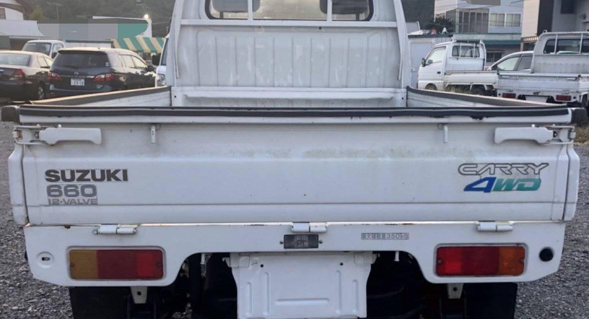 1991 Suzuki Carry 660 4WD