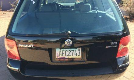 2003 Volkswagen Passat W8 – SOLD!