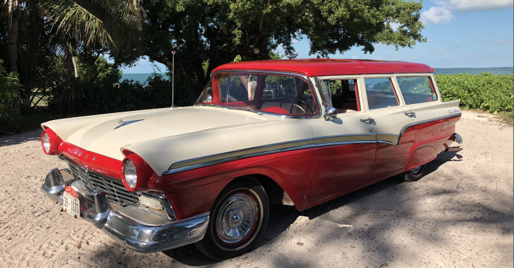 1957 Ford Country Sedan Four-Door Wagon – SOLD!