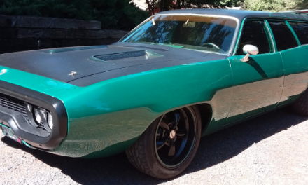 1971 Plymouth Road Runner Custom Wagon – SOLD!