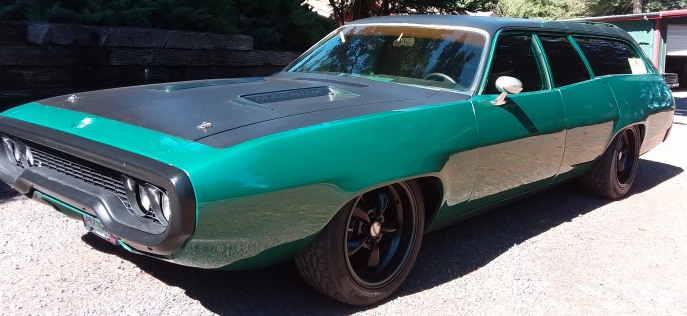 1971 Plymouth Road Runner Custom Wagon – SOLD!