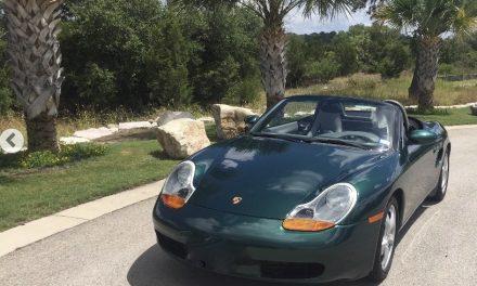 2002 Porsche Boxster – Sold!