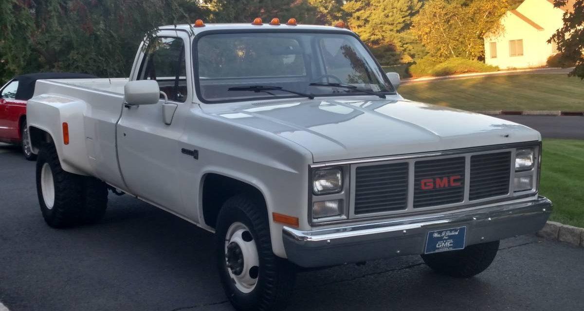 1987 GMC 3500 Dually 1,400-mile Survivor!