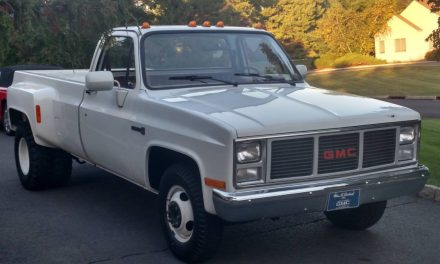 1987 GMC 3500 Dually 1,400-mile Survivor!