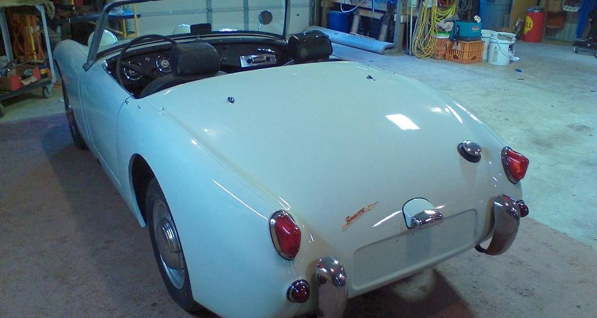 15 Months Gone: 1961 Austin-Healey Sprite Mk I – SOLD!