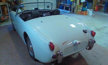 15 Months Gone: 1961 Austin-Healey Sprite Mk I – NOW $7,800