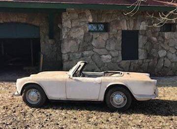 1962 Triumph TR4 Barn Find – Sold!