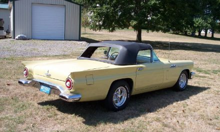 21 Months Gone: 1957 Ford Thunderbird Survivor – Sold?