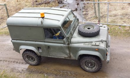 1992 Land Rover Defender 90 Military Edition – $19,500