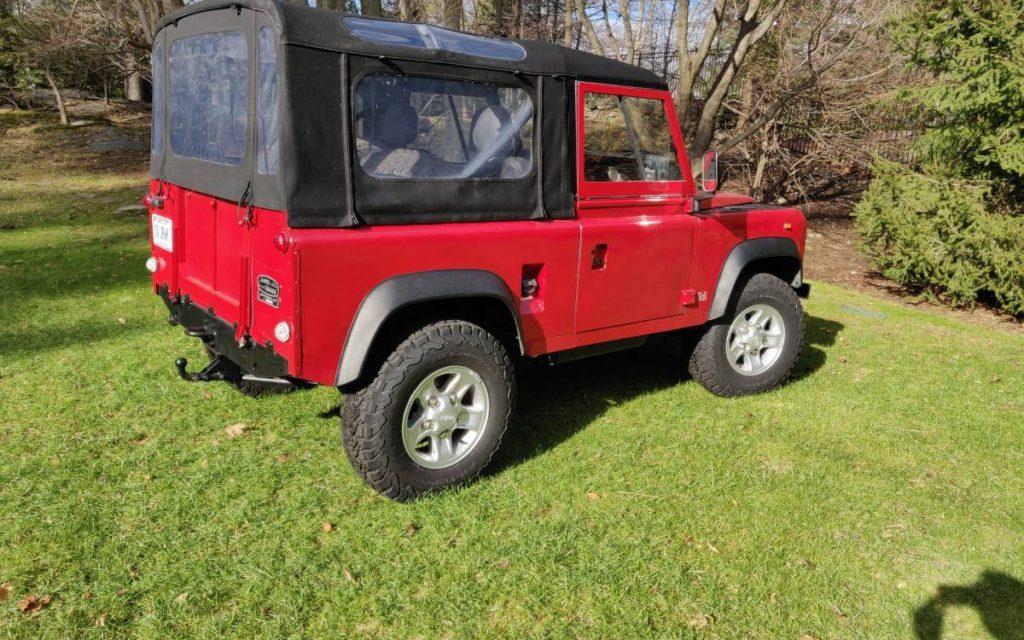 1993 Land Rover Defender 90 – $34,000