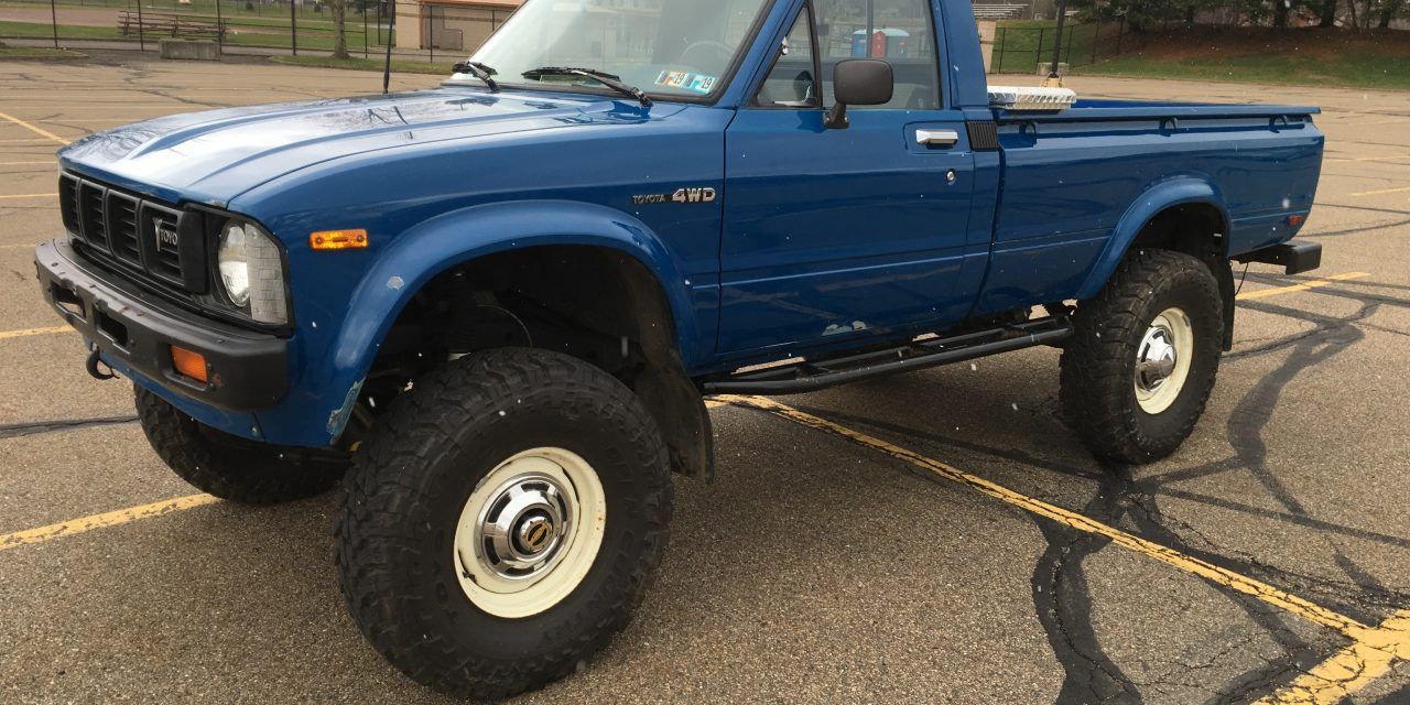 1980 Toyota HiLux 4X4 Pickup – Sold!