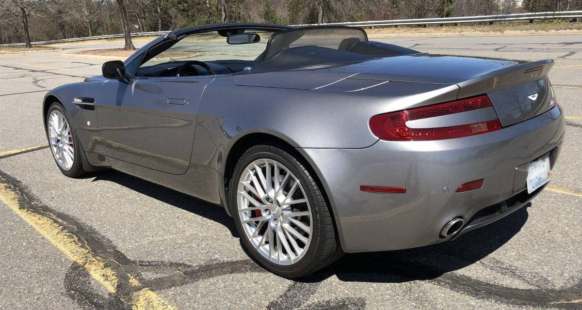 2009 Aston Martin V8 Vantage Sportshift – Sold!