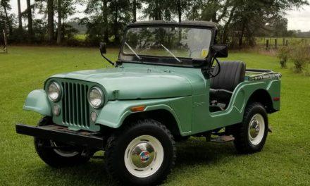 1972 Jeep CJ-5 – $11,500