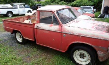 1963 Datsun L320 Pickup – SOLD!