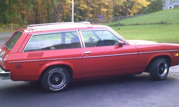 15 Months Gone: 1977 Chevrolet Vega GT Wagon – NOW $10,000