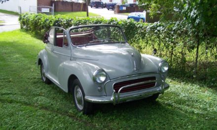 Egregious Dealer Flip:  1959 Morris Minor 1000 Convertible – SOLD!
