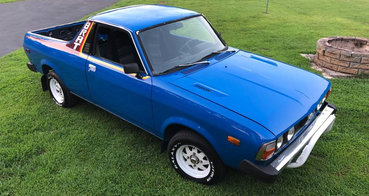 Subaru Brat For Sale Craigslist >> 1980 Subaru Brat 9 999 Guyswithrides Com