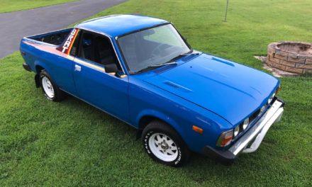 1980 Subaru BRAT -$9,999