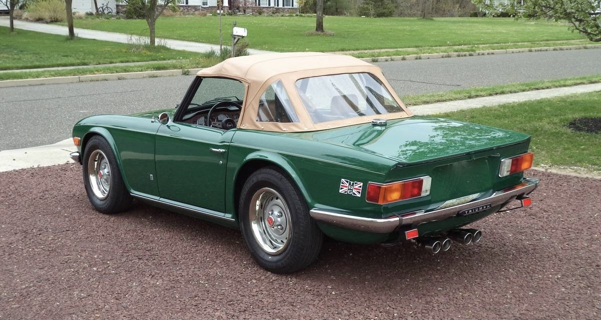 1975 Triumph TR6 One Owner – $27,500