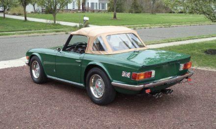 1975 Triumph TR6 One Owner – $27,500