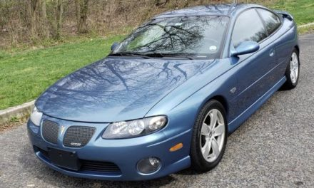 2004 Pontiac GTO 6-Speed Original Owner – $10,500