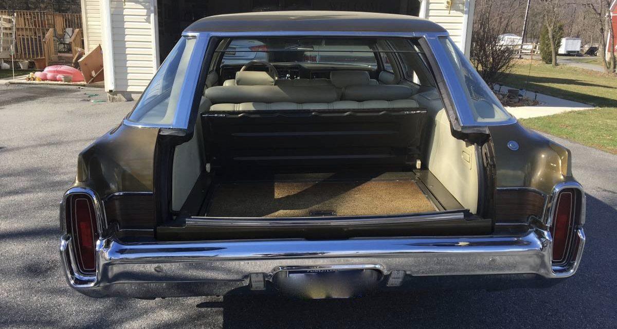 1972 Oldsmobile Custom Cruiser Eight Passenger Survivor – $11,000