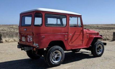 1974 Toyota FJ40V Land Cruiser Hardtop – $17,740