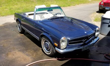 1968 Mercedes-Benz W113 250SL – Sold!