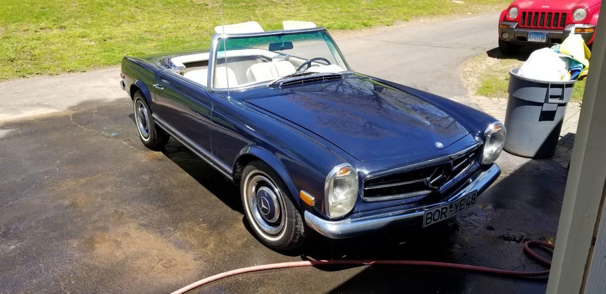 1968 Mercedes-Benz W113 250SL – Sold!