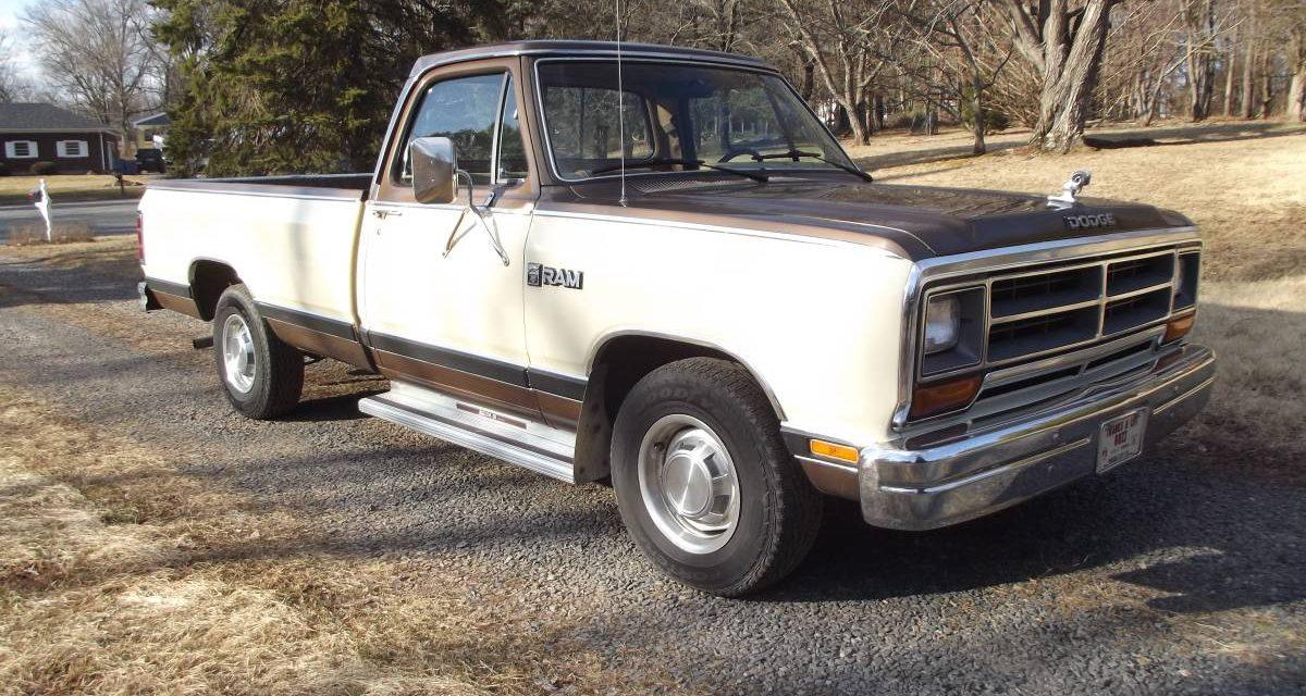 1986 Dodge D150 Royal Pickup Survivor – $4,250