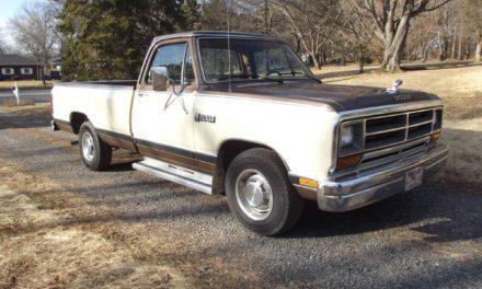 1986 Dodge D150 Royal Pickup Survivor – $4,250