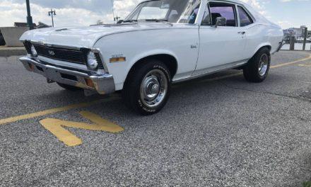 1972 Chevrolet Nova SS 26K Original Miles – $17,500