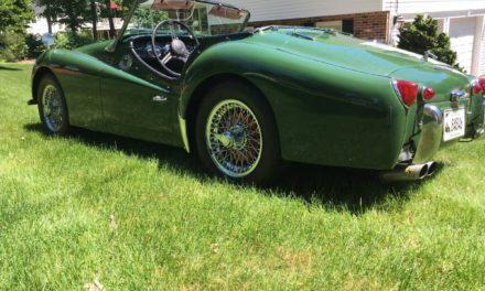 1958 Triumph TR3A – $19,500
