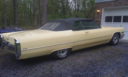 1966 Cadillac DeVille Convertible – $15,000
