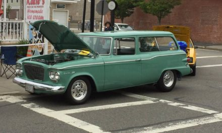 1961 Studebaker Lark Two Door Wagon Hot Rod – $19,500